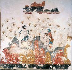 The Spring Fresco: A Symbol of Joy from a Bronze Age Apocalypse