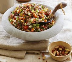 Quinoa Power Salad... Ohhh... Yummy!