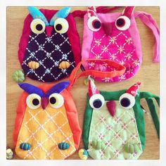 Owl Purses - The Supermums Craft Fair
