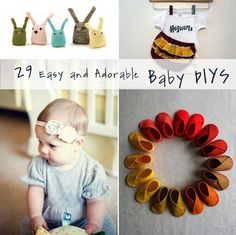 29 Easy And Adorable Things To Make For Babies: Because I'm pretty sure craftiness is a pregnancy side effect, so as soon as I'm pregnant I'll have the motivation for this type of thing.
