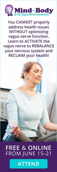 Join me for The Mind, Body & Vagus Nerve Connection Summit Chronic Stress, Chronic Fatigue, Chronic Illness, Nerves Function, Vagus Nerve, Autonomic Nervous System, Health Articles, Fibromyalgia, Immune System