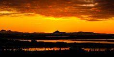 Sonnenuntergang auf Island