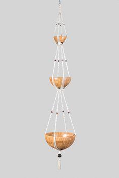 suspension en macram mod le bouddha suspension macram suspension plante suspension. Black Bedroom Furniture Sets. Home Design Ideas