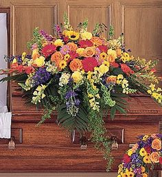 casket | Casket Sprays | Funeral Flower Casket Spray | Sympathy Floral Casket ...