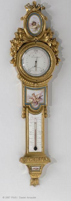 Barometer-thermometerC. 1776