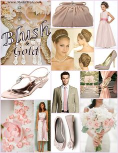 Keep Em' Blushing! click here www.modelbride.com  and see more fabulous wedding dresses, bridesmaid and flower girl dress, shoes and accessories.
