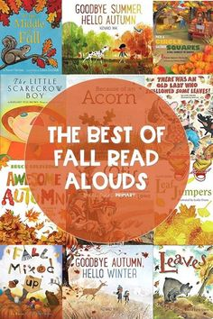 Fall is my absolute favorite season! Here are some of my favorite read alouds to get in the spirit of all things autumn. These books for kids are great for pre-k, kindergarten, 1st grade, and 2nd grade.