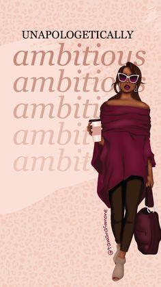 Black Girl Art, Black Women Art, Black Girl Magic, Black Girls, Art Girl, Powerful Women Quotes, Boss Babe Quotes, Woman Quotes, Girl Quotes