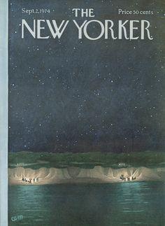 The New Yorker - Monday, September 2, 1974 - Issue # 2585 - Vol. 50 - N° 28 - Cover by : Charles E. Martin