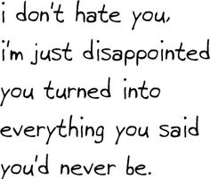 Yep. And disappointed that I believed you when you said you weren't