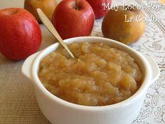 Twittear La compota de manzana casera es extremadamente fácil de hacer. Sólo necesitas unas buenas manzanas y men... Decadent Cakes, Sin Gluten, Baby Food Recipes, Food Inspiration, Tapas, Macaroni And Cheese, Oatmeal, Food And Drink, Veggies