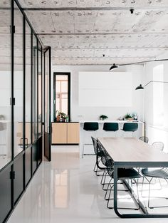 modern rustic office. Apartment On Leningradsky Prospekt By Crosby Studios \u2014 Urdesignmag Modern Rustic Office