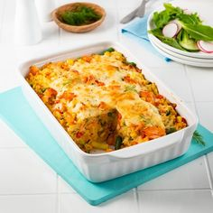 Poisson/fruits de mer - Page 4 of 27 - 5 ingredients 15 minutes Fish Recipes, Seafood Recipes, Cooking Recipes, Confort Food, Easter Recipes, Fish And Seafood, Lasagna, Macaroni And Cheese, Meal Planning