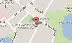 Derag Livinghotel Königin Luise - Parkstraße 87, 13086 Berlin  Tel.: 080/962470  Email: res.kl@derag.de