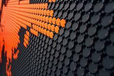 Flip-Dot Wall