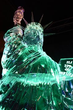 Statue of Liberty - Ice Sculpture                                                                                                                                                                                 More