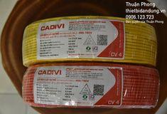 Dây điện Cadivi 4.0 - giá từ nhà cung cấp dây Cadivi 100m, The 100