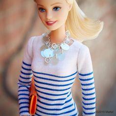 Saturday stripes! #barbie #barbiestyle
