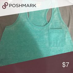 Crop Top Loose fitting light teal crop top Mossimo Supply Co. Tops Crop Tops