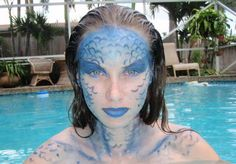 stage makeup/face painting on Pinterest | 30 Pins