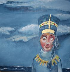 """Malerei mit Acrylfarben  Das Bild wurde für die Aktion """"Kunstraub 3"""" gefertigt."""