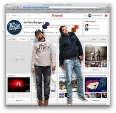 Nieuwsgierig naar de visuele wereld van de Handlangers? Kijk ons eens rondhangen op Pinterest.