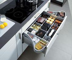 gavetas de cozinhas