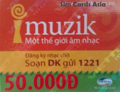 Vietnam SIM Card Top-up 50,000 Dong For Viettel Network In Vietnam.