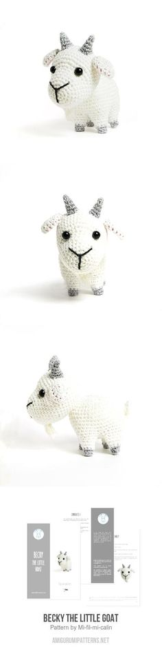Becky the little goat amigurumi pattern