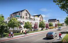 Perspective 3D pour la commercialisation d'un programme immobilier pour Nexity