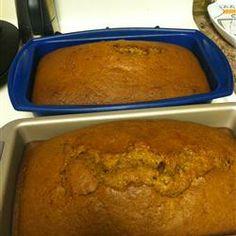 Extremely easy pumpkin bread recipe