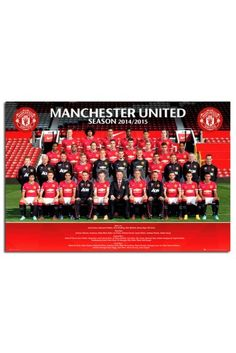 Manchester United Team Photo 2014 / 2015 Poster
