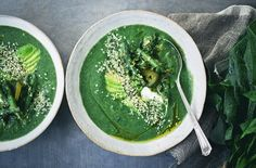 Creamy Spinach Soup + Our New Book!