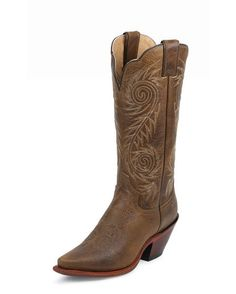 Women's Tan Damiana Boot - L4332 country outfitters