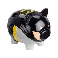 63a972a2c6b78 Batman Piggy Bank ( 19) ❤ liked on Polyvore featuring home