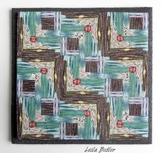 FIMO 50 World project tile from Leila Bidler, Italy