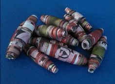 paper beads 2 Paper Beads, Art Supplies, Blog, Inspiration, Home Decor, Biblical Inspiration, Decoration Home, Room Decor, Blogging