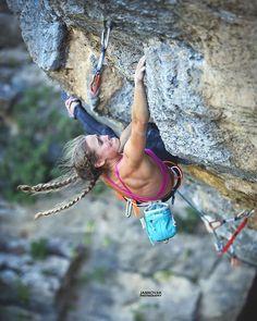 Rock climbing dreaml... ☁️ Merci pour la photo @jan_novak_photography @lasportivana @petzl_official
