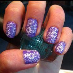 Gave myself a quick manicure before my night class. -J.P.
