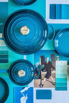 Le Creuset Colors: Deep Teal, Nectar and Flame. 🌈 Which hue is at the top of your wish list this year? 📸: Instagram @splendid_rags Le Creuset Colors, Deep Teal, Hue, Random Stuff, Kitchen, Shopping, Instagram, Random Things, Cooking