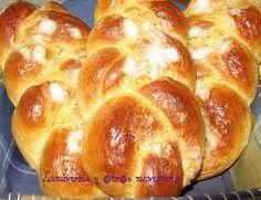 Trenzas con crema pastelera
