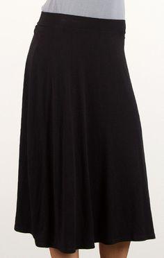 #DownEast Basics          #Skirt                    #Basic #Knit #A-Line #Skirt                         Basic Knit A-Line Skirt                             http://www.seapai.com/product.aspx?PID=681488