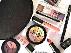 Just Cosmetics, palette ombretti, rossetti matte, smalti, blush ev kit camouflage [REVIEW]