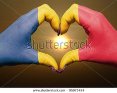 I love Romania Vatican City Flag, City Flags, Romania, My Love, My Boo