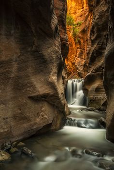 Kanarra Creek Canyon, Zion National Park, Utah