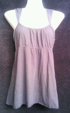 Aeropostale Gray Bodice Tank Size M medium jrs top shirt blouse juniors womens