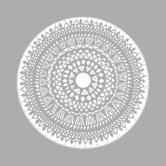grey, mandala, ethnic, ethno, east, round, boho, hippie, style, pattern, circle, triangles