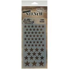 NEW Tim Holtz Layering Stencils Stars by Crafticide on Etsy - $4.50