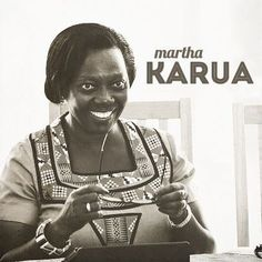 A strong advocate for justice, human rights, and gender issues (and the former Kenyan Minister of Justice), Martha Karua is the first woman in history to run for President in Kenya. #bhm