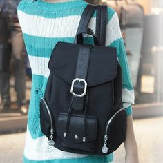 Nylon Belted Backpack from #YesStyle <3 Baobibi YesStyle.com